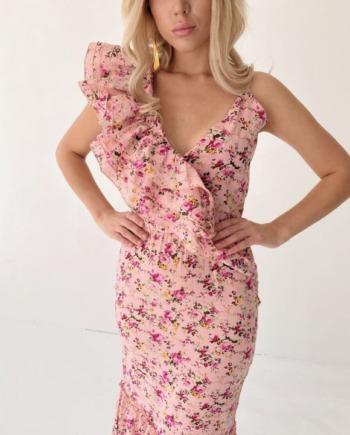 Платье Minnes в розовом цвете (Арт 345)