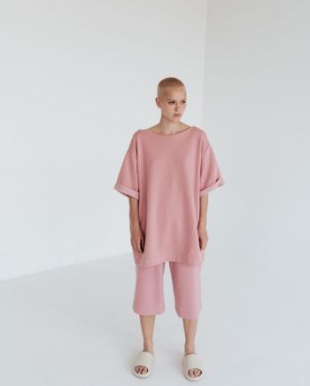 Розовые шорты-бермуды  Orleans (Арт 461)