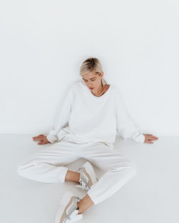 Молочные штаны с завышенным поясом Tours (Арт 465)